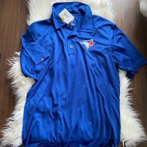 NWT-Toronto Blue Jays Golf Polo shirt